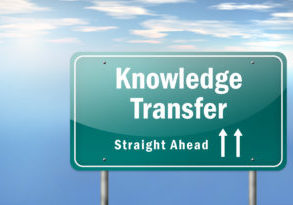 """Highway Signpost """"Knowledge Transfer"""""""